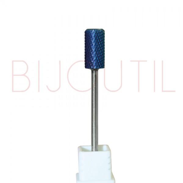 Fräser blau Zylinder Ø 6.7 x 13mm F feine Zahnung, Schaft 2.34mm