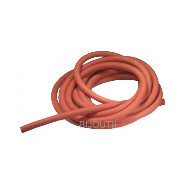 Rubber tube red 8x12mm