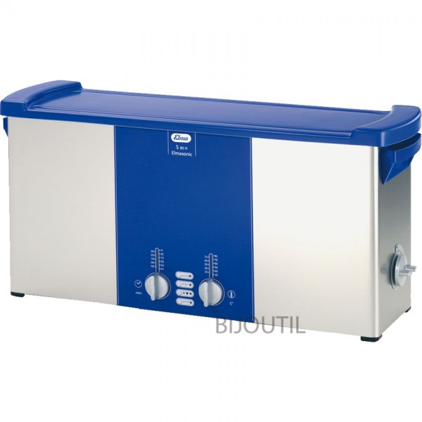 Ultrasonic cleaner S 80 H 9.40 l with cover
