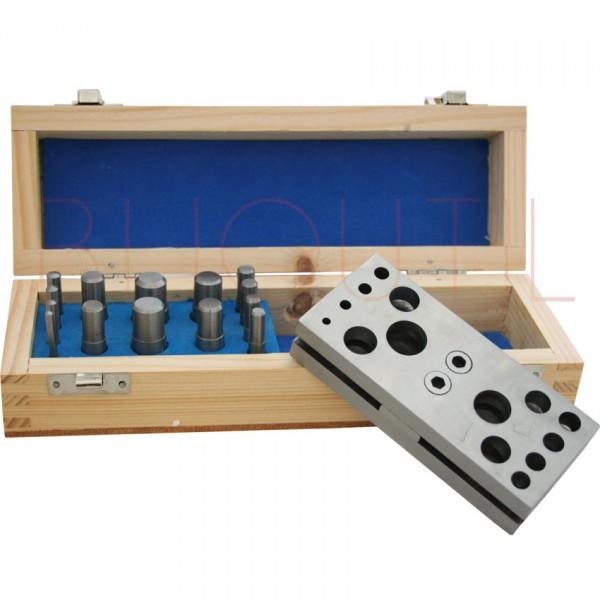Aushauersatz 3-16 mm in Holzbox