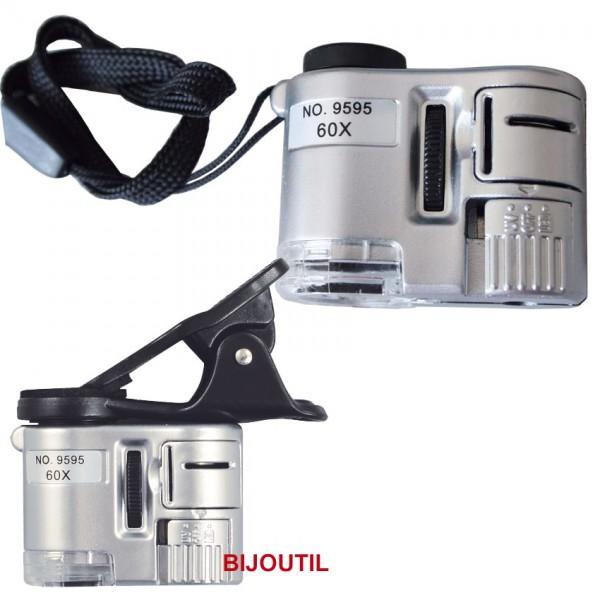 Grossissement LedUvAvec 60 Réglable Microscope Clip RéfD'article39978 P Handy XFocus TlKJc13F
