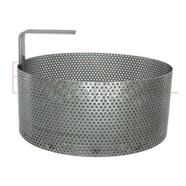 Edelstahl Korb ∅ 150 x H 110mm zu 23353