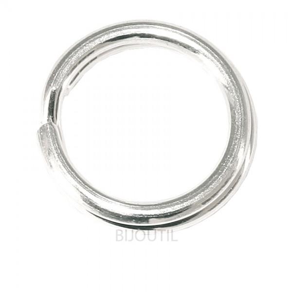 Spaltringe rund 5,0 mm Silber