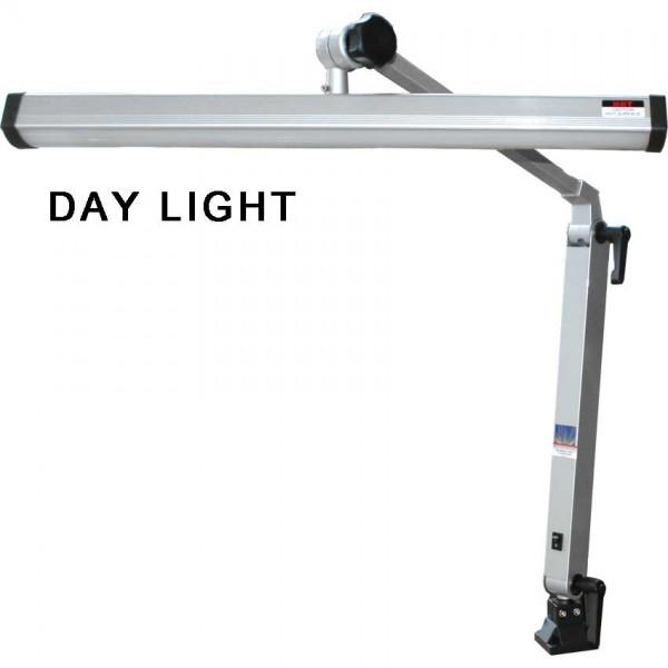 Lampe de table, grise, 55 watts sans pince de table