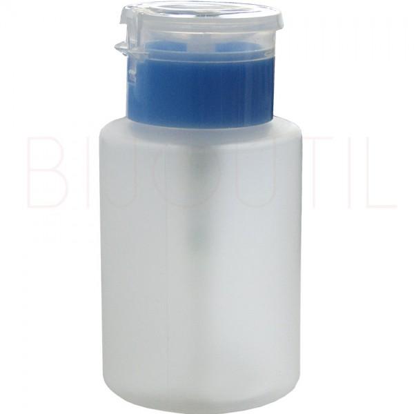 Spender für Lösungsmittel, rund, 150ml Ø 57 x 105mm, mit Kunststoffdeckel