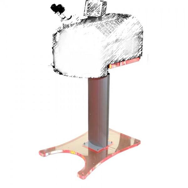 Stehfuss zu Laser Schweissgeräten elektronisch verstellbar 63 - 81cm