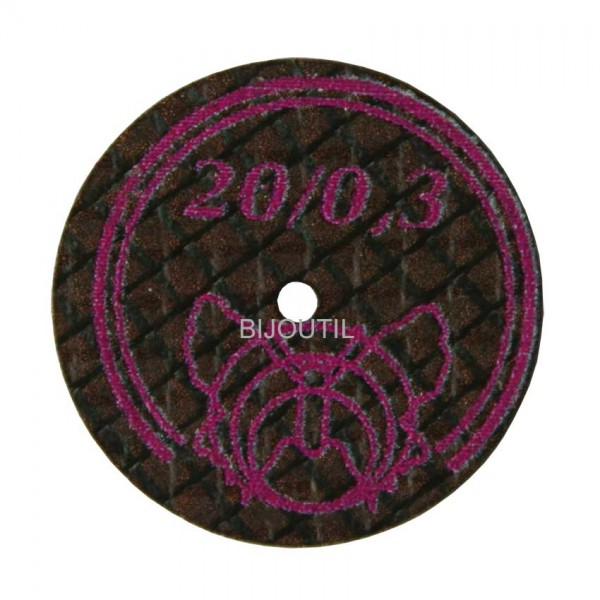 Separating disc Ø 20 x 0.3 mm diamond coated