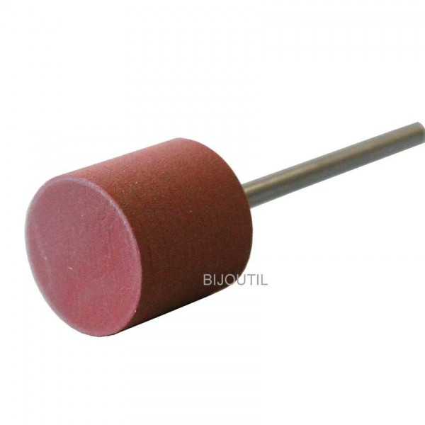 Rubber cylinder red 12x13 mm