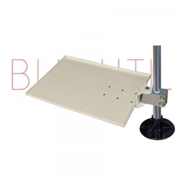 Shelf arm middle for rod 13400 + 13400L L x W x H 26cm x 22cm x 7mm