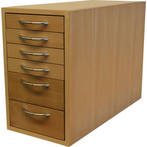 Bloc-tiroirs petit 43 x 26.5 x 60cm (HxLxP)