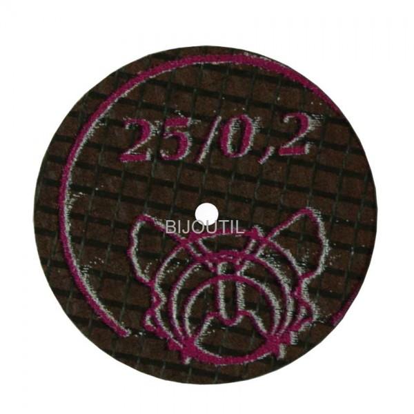 Separating disc Ø 25 x 0.2 mm diamond coated