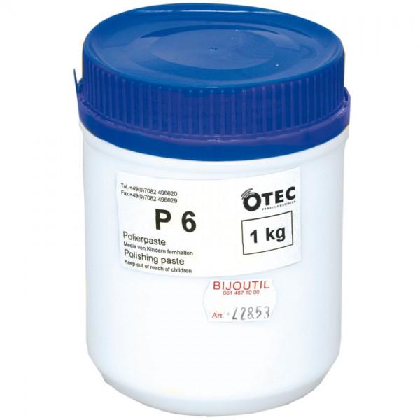 Polishing paste P 6 per kg
