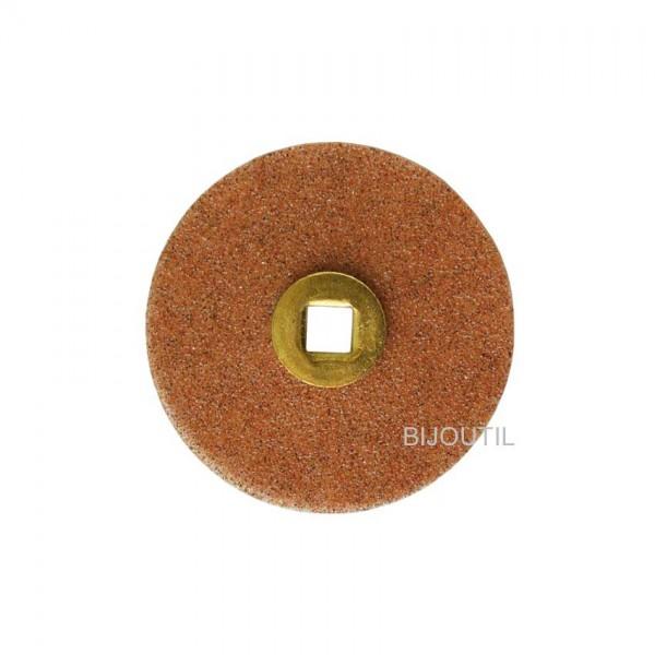 Moore disc, fine, garnet Ø 16mm, Snap-On