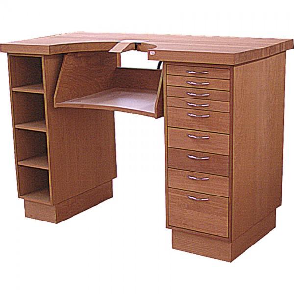 Werktisch 140x70x100 m/Schubl.