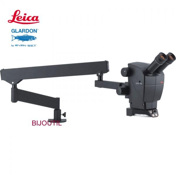 Leica Stereo Zoom Mikroskop A60 5x - 30x, inkl. Leica Gelenkarm