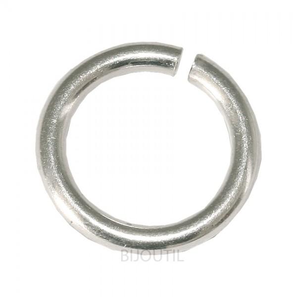 Biegeringe rund 4,0 mm Silber